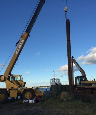 Work Boats Excavator
