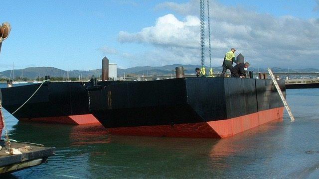 14.5M Barge Workboat