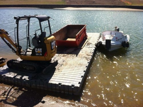 Sectional Barges (Plastic Pontoons)