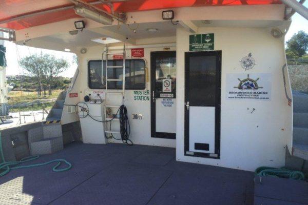Workboat Ocean Eagle Toilet & Shower