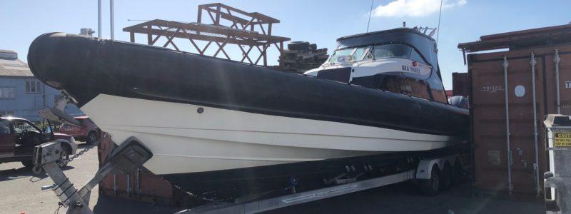 12M Protector RHIB Workboat