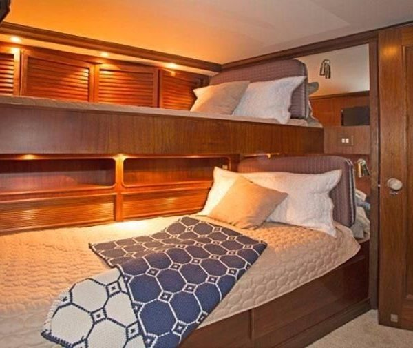 luxury workboat bunk