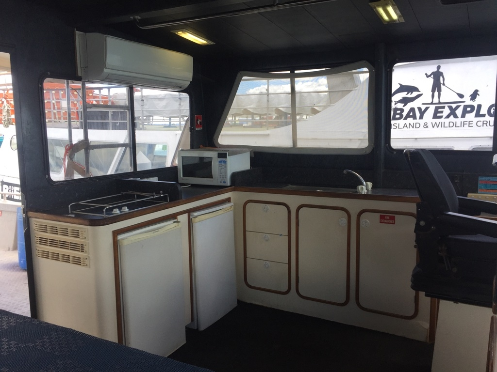 Workboat Ocean Eagle Galley