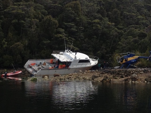 workboat aground