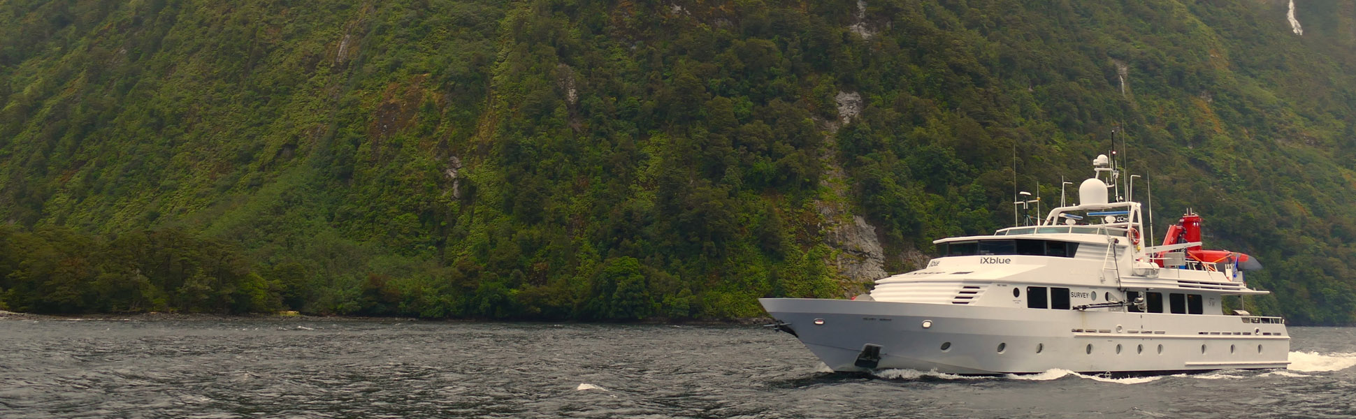 workboat silent wings fiordland