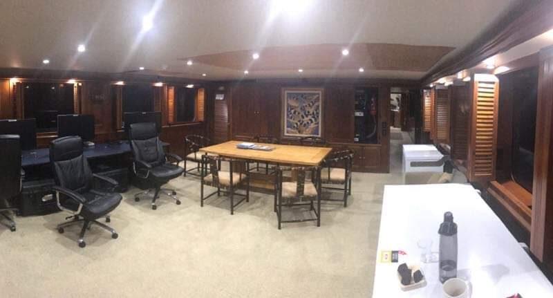 yacht workboat inside