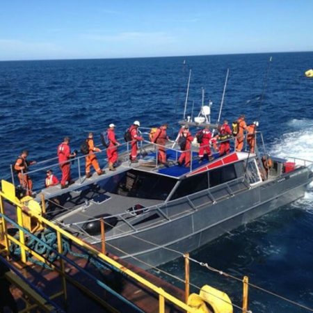 Marine Contractors-pacific7 workboat crew transfer