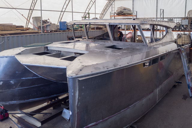 Pacific 7 Boat Builder New Zealand