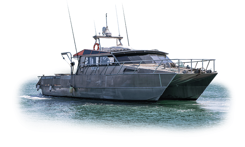 Pacific7 work boat KarenD to hire New Zealand