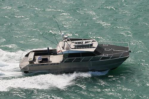 Pacific7 Karen D 17M Alloy Workboat