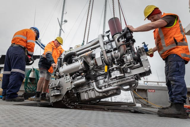 Pacific7 Marine Engineering Specialists New Zealand