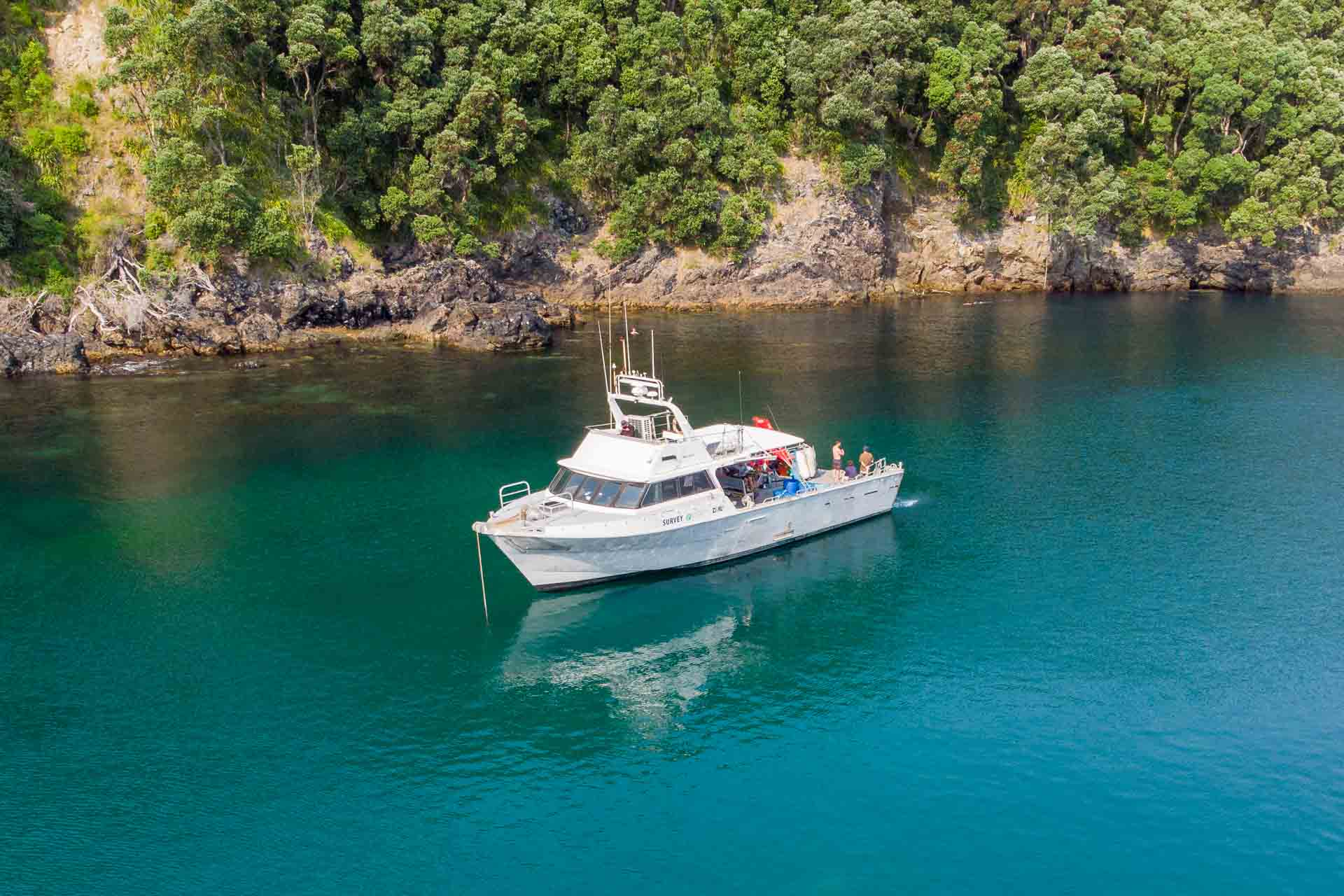 Pacific7 18M Ocean Eagle Work boat Hire New Zealand