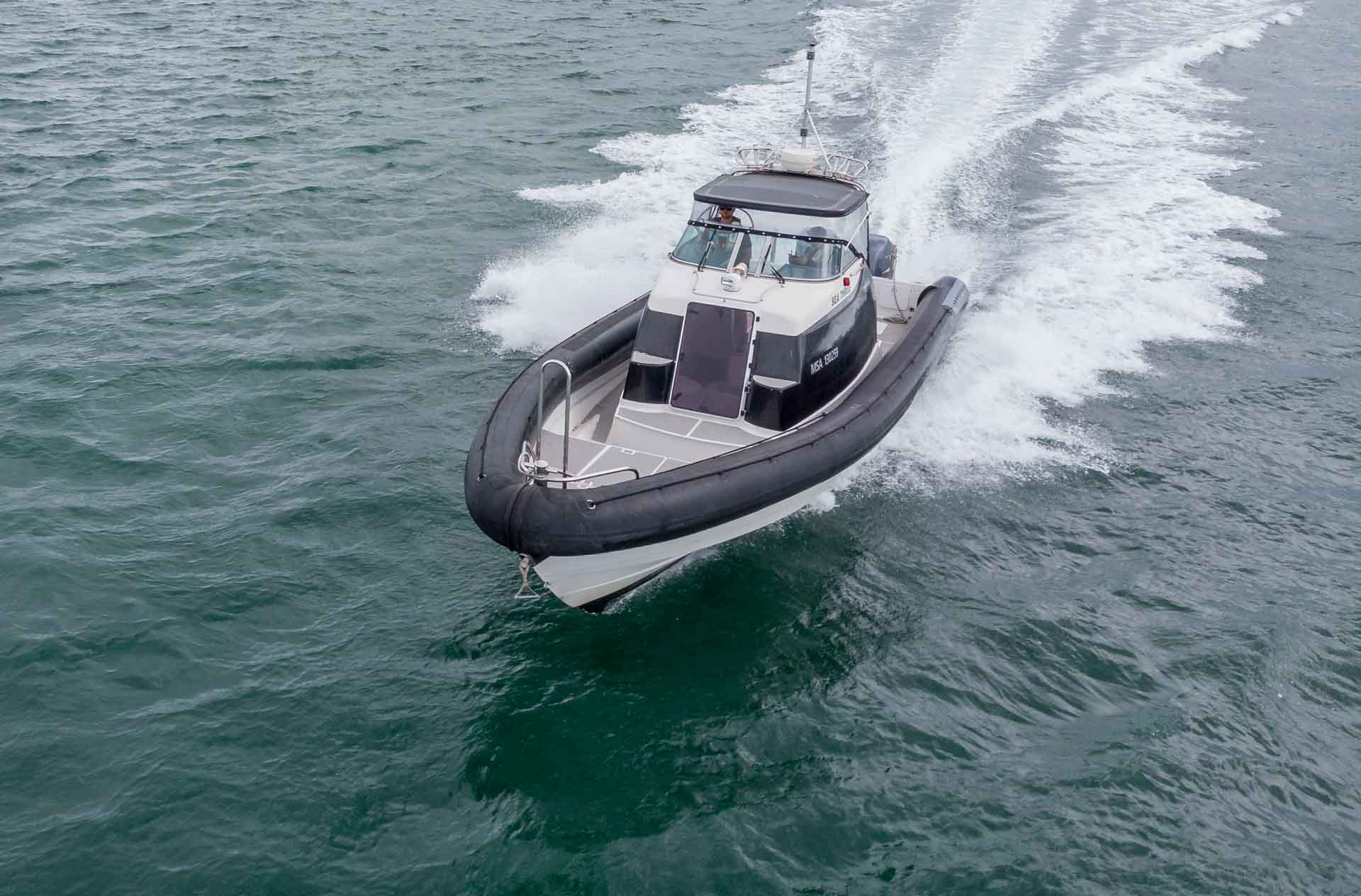 RHIB 12Meter Work Boat to Hire in New Zealand