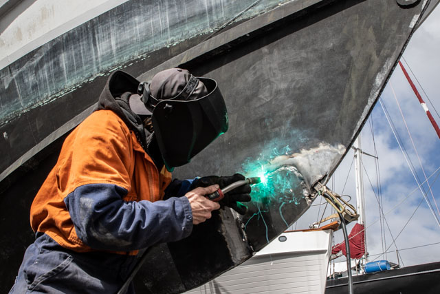 Pacific7 Vessel Refit Hull Specialists New Zealand