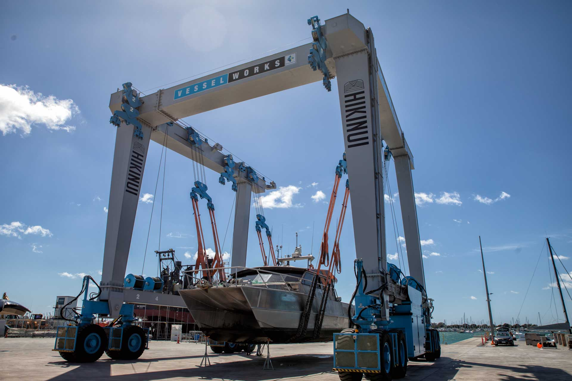 Pacific7 Marine Services based in Tauranga, New Zealand